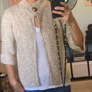 BCBG quarter sleeve sweater